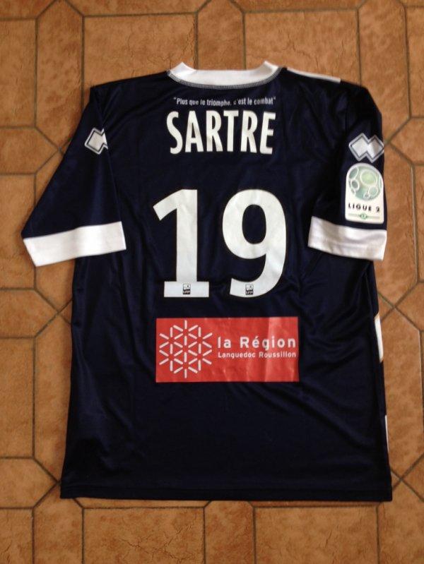 Mailllot porté par Romain SARTRE