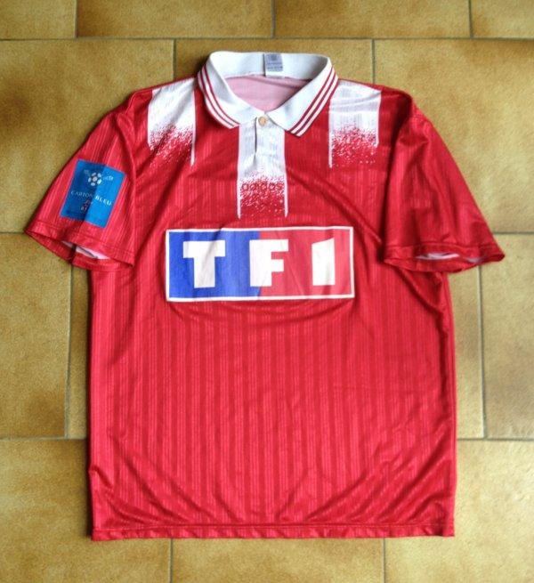 Maillot porté par Cyril Jeunechamp en finale de coupe de France 1996 !!