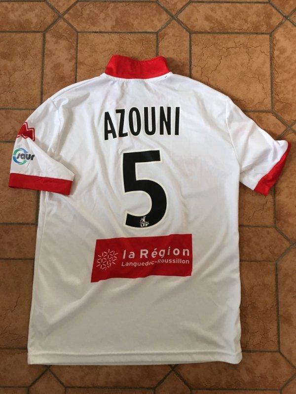 Maillot extérieur 2015/16 porté par Lary Azouni contre Lens à Bollaert