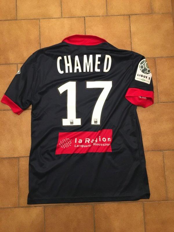 Maillot third 2015/16 porté par Nasser Chamed contre Auxerre