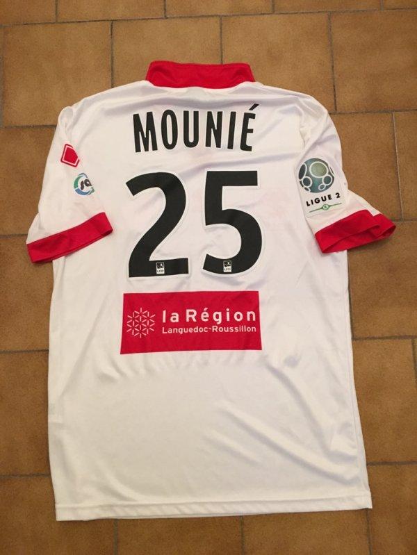 Maillot extérieur porté par Steve MOUNIÉ saison 2015/2016
