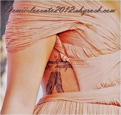 Tattoo Demi lovato