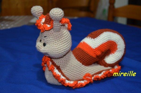 Escargot à chapeau