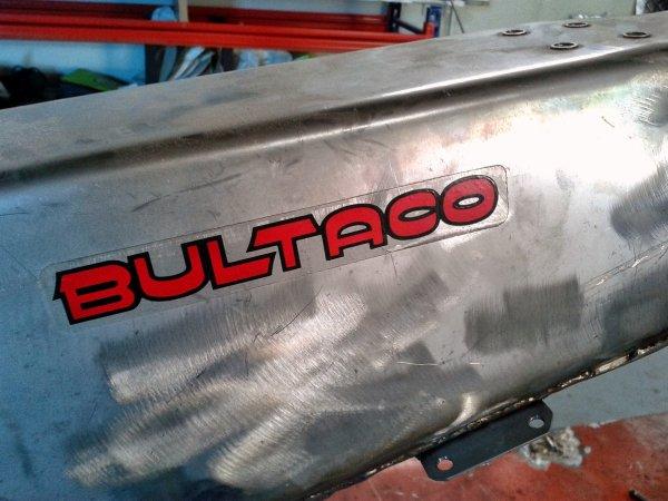 Réplica Bultaco 50 TSS 1982 ( MOTUL CARMONA TABERVALL)