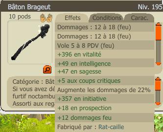 Craft de Bâton Brageut Série 1