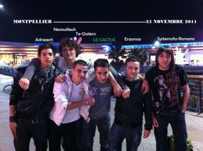 Retour de Montpellier !