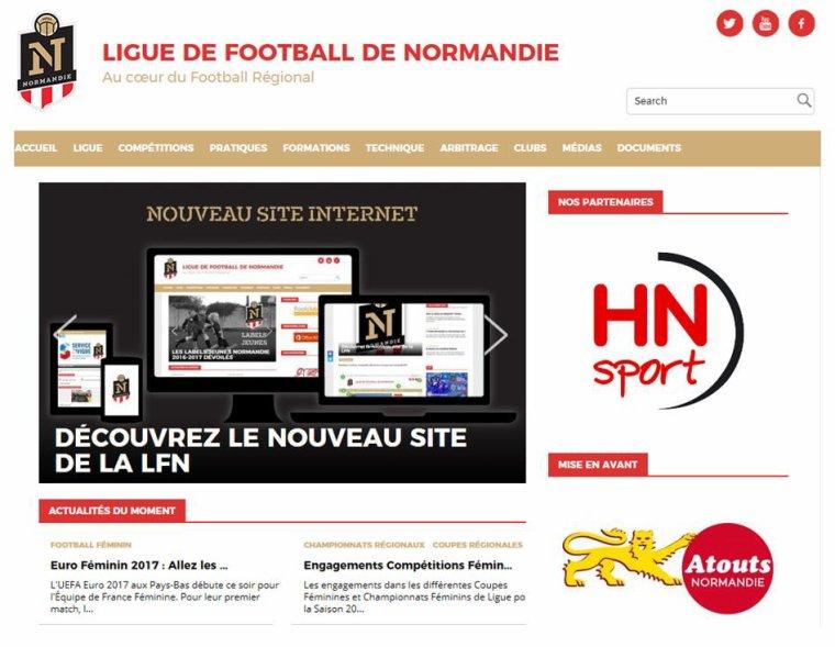 Site de football de normandie