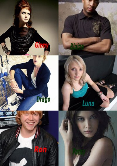 Le casting de ma fiction.