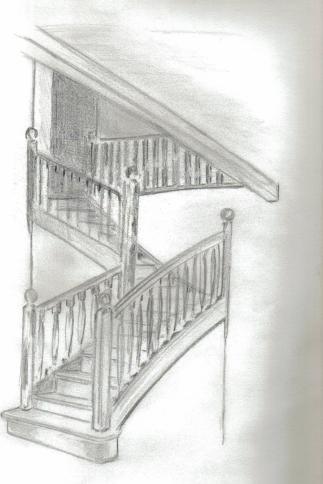 A l' étage . . .