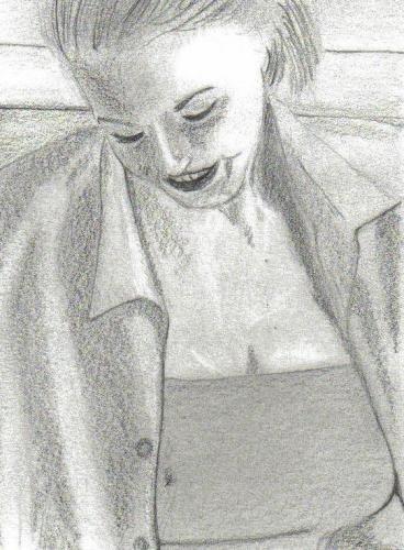 Elle sourit . . .