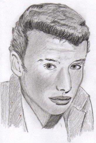 Mon tout premier portrait de Johnny