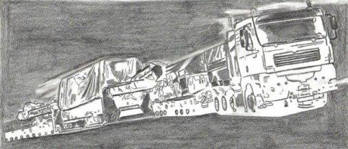 Camion : convoi . . .