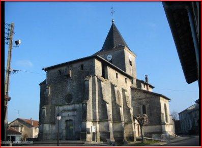 Tronville en Barrois : église (modèles utilisés)