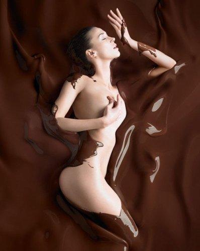 femme/chocolat