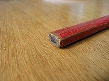 Crayon de charpentier