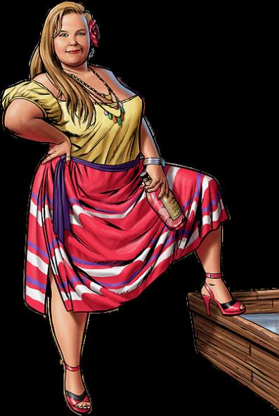 femmes rondes illustrations