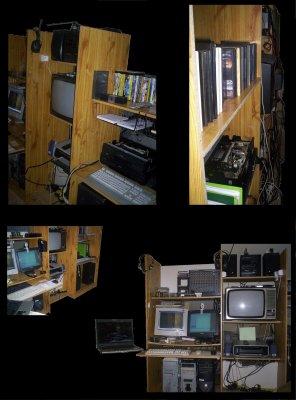 Un meuble informatique