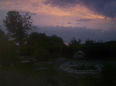 bassin : Dans la nuit