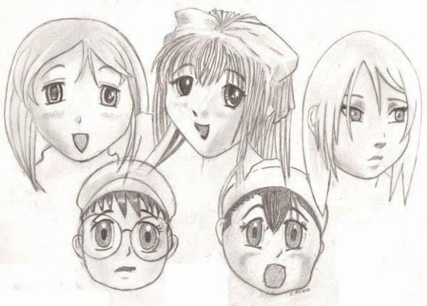 Manga : L' un à côté de l'autre . . .