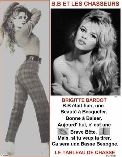 Brigitte Bardot (Humour)