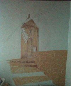 Peinture murale 2011: La suite des travaux
