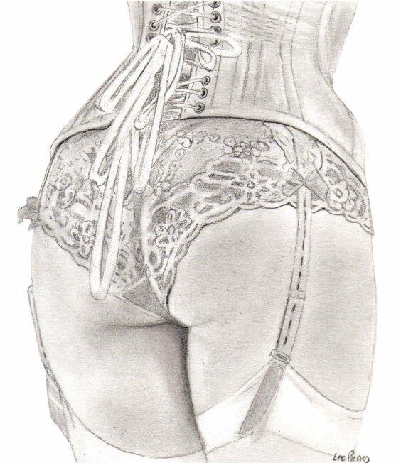 Culotte : dessous chic , sensation choc
