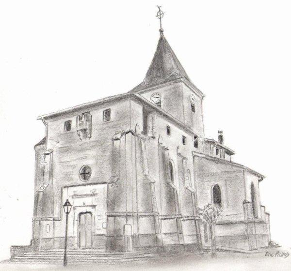L'église de ma commune