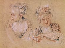Technique des trois crayons