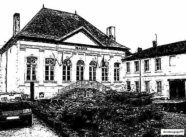 Ancien château du Tertre  à Tronville-en-Barrois : dessinsagogo55