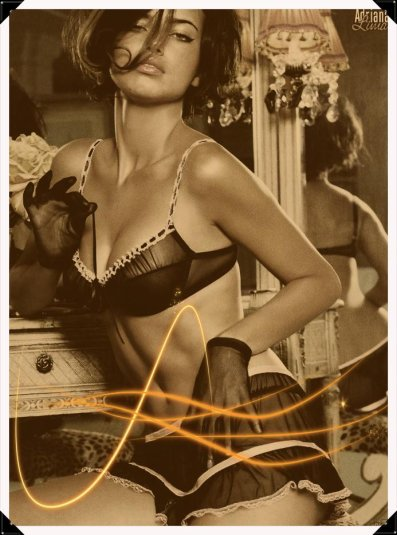 Adrianna Lima (modèle utilisé)