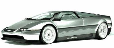 DeLorean (modèle utilisé)