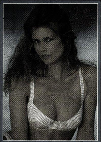 Claudia Schiffer (modèle utilisé)