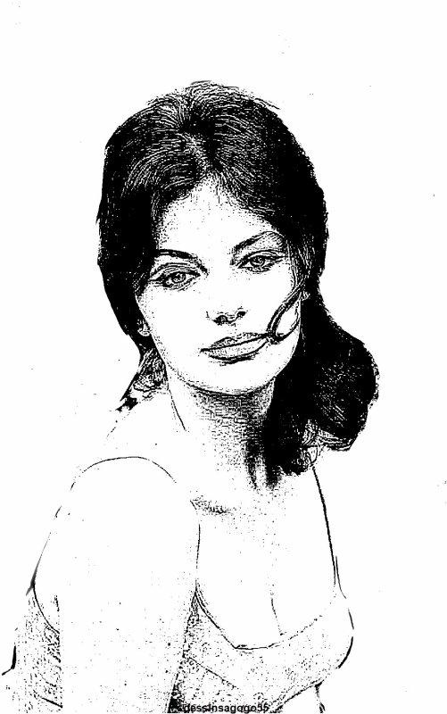 Jacqueline Bisset : dessinsagogo55