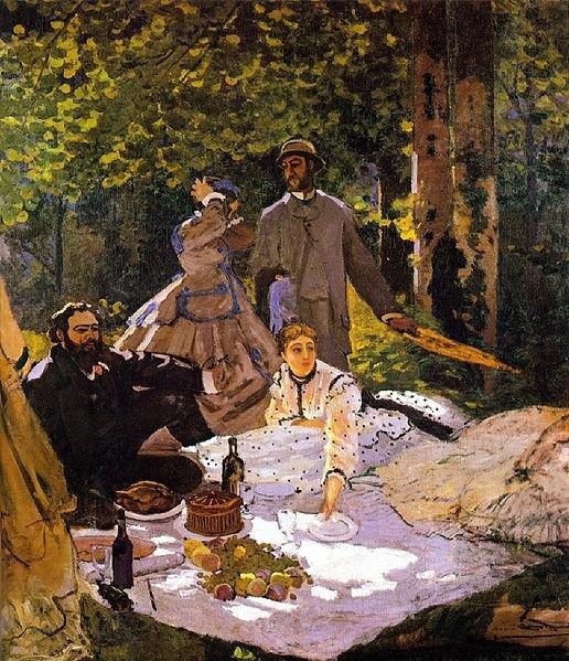 Claude Monet (Déjeuner sur l'herbe)