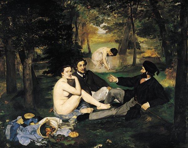 Édouard Manet (Le Déjeuner sur l'herbe)