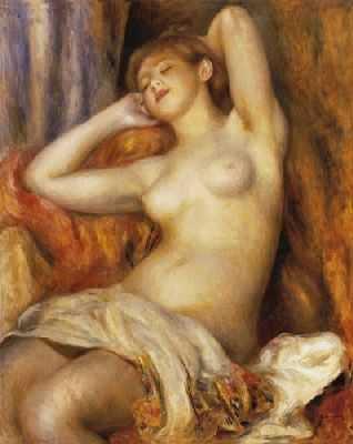 Pierre Auguste Renoir (La baigneuse endormie)