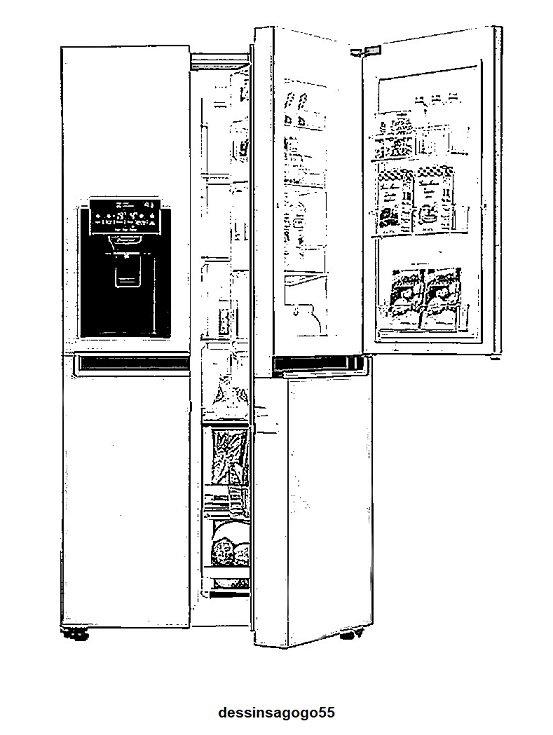 Réfrigérateur . Histoire