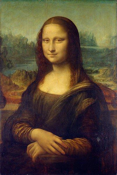 Leonardo de Vinci (La joconde / Mona Lisa)