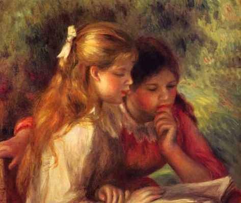 Auguste Renoir : La lecture