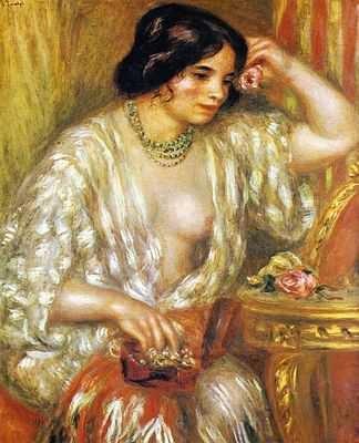 August Renoir (Gabrielle avec boite à bijoux)