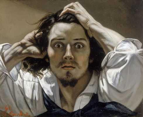 Gustave Courbet (Autoportrait le désespèré)