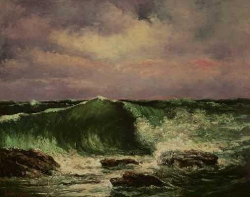 Gustave Courbet (la vague)