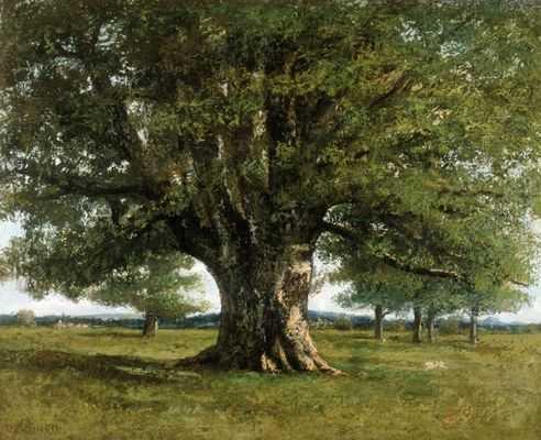 Gustave Courbet (le chêne de flagey)