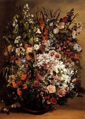 Gustave Courbet (Vase de fleurs)