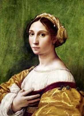 Raphael : Jeune femme