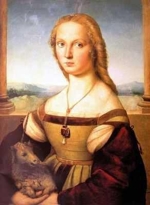 Raphael : La dame à la licorne