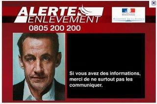 Sarko : Alerte enlèvement