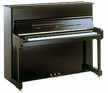 Piano moderne