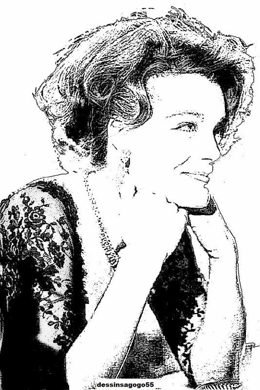 Romy Schneider : Création dessinsagogo55