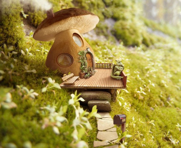 Côté jardin U